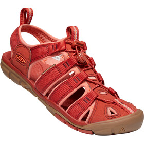 Keen Clearwater CNX Sandalen Damen dark red/coral
